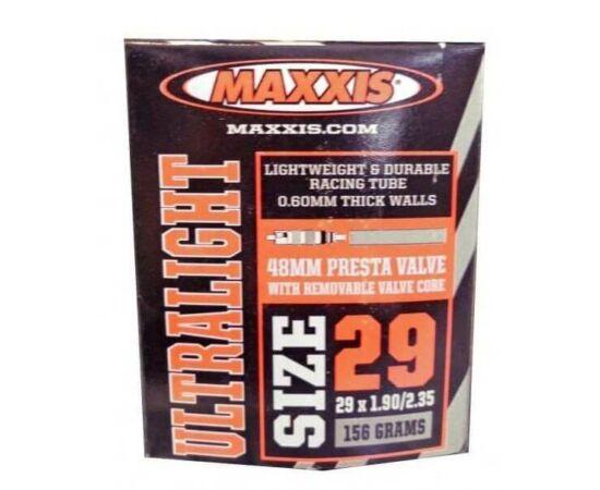 Maxxis Ultralight (0,6 mm) 29 x 1,9/2,35 (48/60-622) MTB belső gumi 48 mm hosszú szeleppel, presta