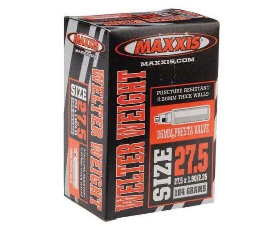 Maxxis Welter Weight (0,9 mm) 27,5 x 1,9/2,35 (48/60-584) MTB belső gumi 48 mm hosszú szeleppel, presta