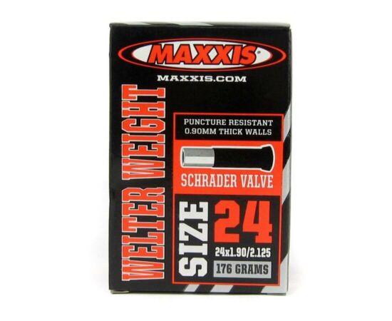 Maxxis Welter Weight (0,9 mm) 24 x 1,9/2,125 (48/54-507) belső gumi 32 mm hosszú szeleppel, autós