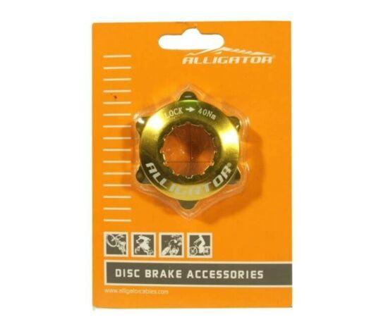 Alligator CenterLock adapter, arany