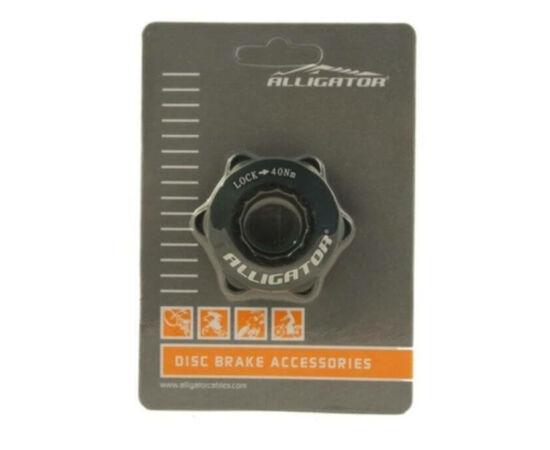 Alligator CenterLock adapter, fekete