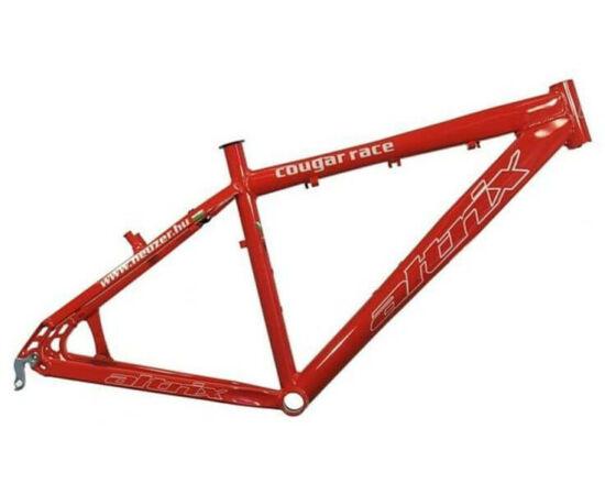 Altrix Cougar Race kerékpár váz, piros, 17 col