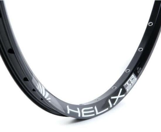SUNringlé Helix 25 MTB felni, 27,5 colos (584x25 mm), 32H, tárcsafékes, illesztett, fekete