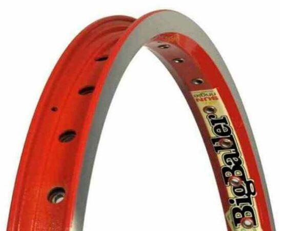 Sun Big Baller BMX felni, 20 colos (406 x 32 mm), hegesztett, piros, 36H
