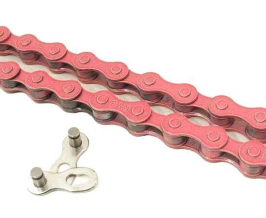 KMC Z410 lánc 1s, pink