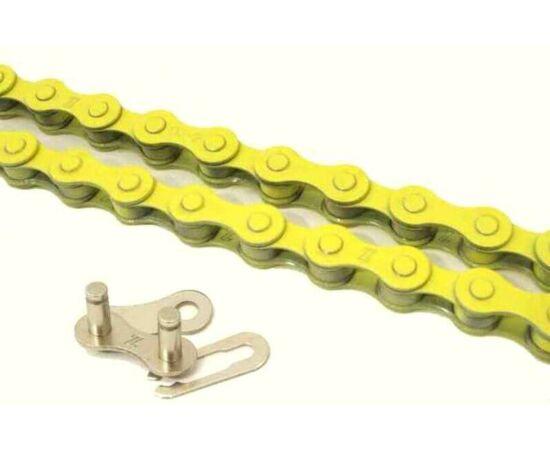 KMC Z410 lánc 1s, sárga