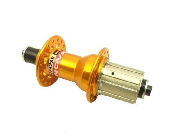 Novatec F742SB/A-A Light MTB agy, hátsó, 32 lyuk Arany