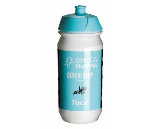 Tacx Shiva Pro Team Omega Pharma kulacs 500 ml csavaros fehér