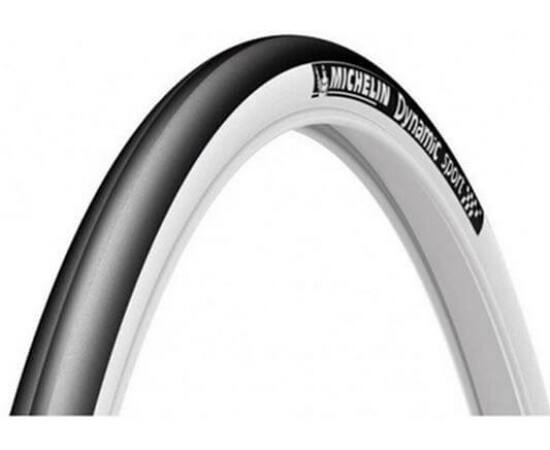 Michelin Dynamic Sport 622-23 (700x23c) külső gumi, fehér falú, 30TPI, 310g