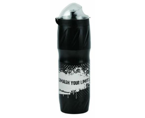 Polisport Thermal Smash hőszigetelt kulacs 500 ml csavaros, fekete