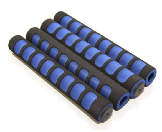 Velo ergonomikus szivacs markolat készlet, 4 x 210 mm, fekete-kék