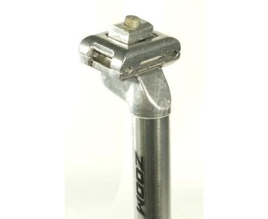 Zoom nyeregcső 25,8 x 350 mm, alumínium, 1 csavaros, ezüst színű