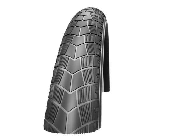 Schwalbe Big Apple HS338 26x2,35 (60-559) külső gumi, defektvédett (KevlarGuard), reflexcsíkos, 830g