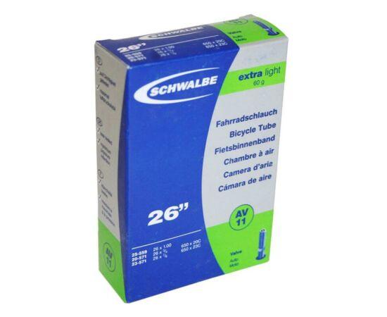 Schwalbe AV11 26 x 1,00 Extra Light belső gumi 60 g, autós