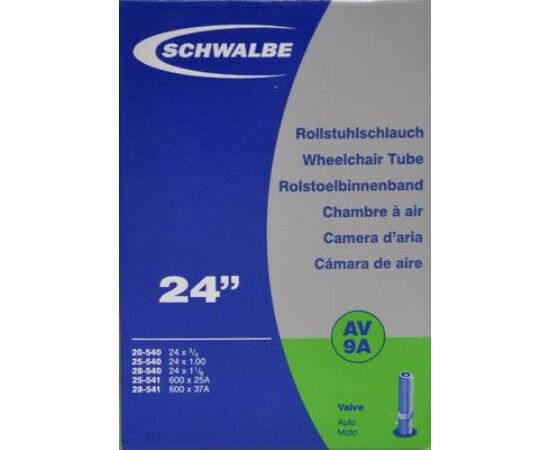 Schwalbe AV9A 24 x 3/4 - 600 x 28A belső gumi 95 g, autós