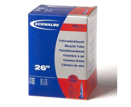 Schwalbe SV14A 26 x 1,5-2,1 XXLight belső gumi 95 g, presta