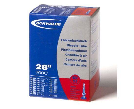 Schwalbe SV17 609-635 x 28/47 belső gumi 150 g, presta