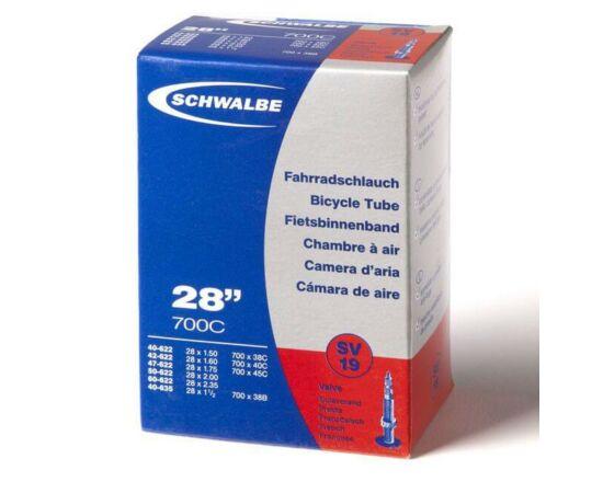 Schwalbe SV19 27,5/29 x 2,1/2,4 (53/61-584/622) MTB belső gumi 34 mm hosszú szeleppel, 220 g, presta