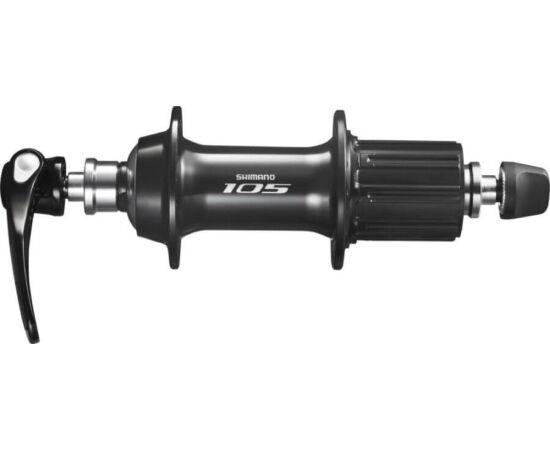 Shimano 105 FH-5800 országúti hátsó kerékagy, 32H, gyorszáras, 11-es kazettás lánckeréksorhoz, fekete