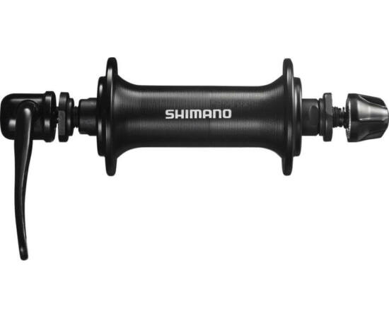 Shimano Tourney HB-TX800 trekking első kerékagy, 32H, gyorszáras, fekete