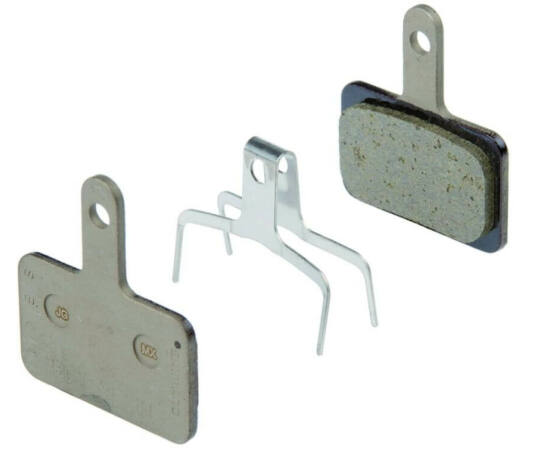 Shimano B01S tárcsafék betét, BR-M515-höz, acél alap, organikus pofa, DN