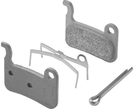 Shimano M06 tárcsafék betét, régi XT, XTR, Saint-hez, acél alap, fémes pofa