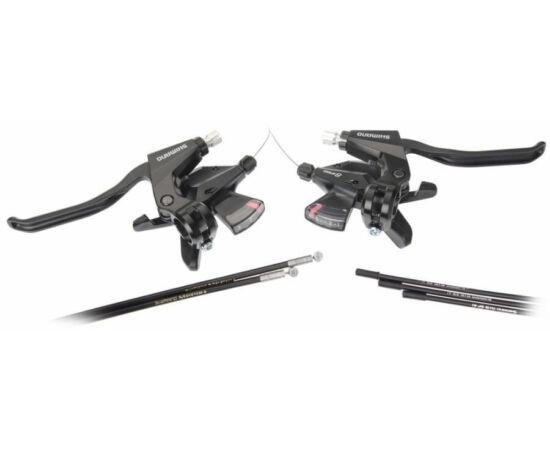 Shimano Altus ST-M310 fék-váltókar szett - 3x8-as fekete