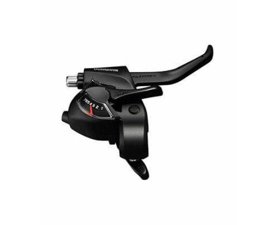 Shimano Tourney ST-EF41 fék-váltókar, csak jobb, 6-os, fekete