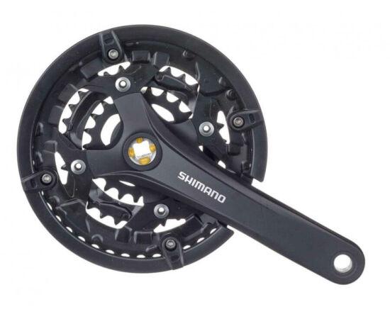 Shimano Acera FC-T3010 négyszögtengelyes MTB hajtómű 22-32-44T, 3x9s, 175 mm, alumínium, fekete