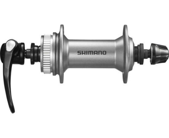 Shimano Alivio első agy tárcsafékes - Centerlock 36 lyuk ezüst