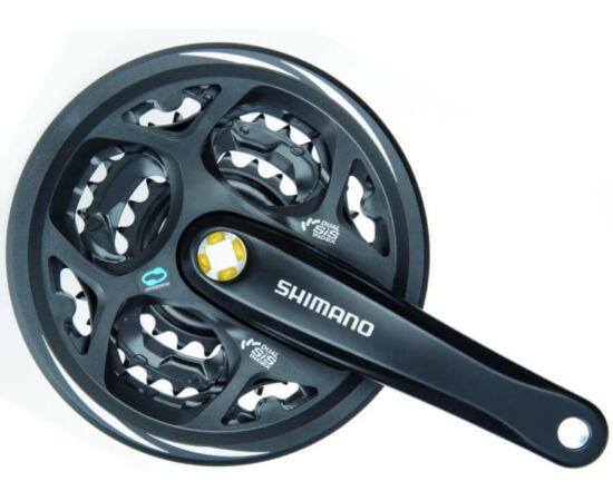 Shimano Acera FC-M311 négyszögtengelyes MTB hajtómű 22-32-42T, 170 mm, alumínium, fekete