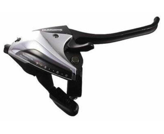Shimano Altus ST-EF65 fékváltókar csak jobb - 8-as ezüst