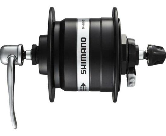 Shimano Nexus DH-3N31 agydinamó, 32H, gyorszáras, 6V, 3W, ezüst színű