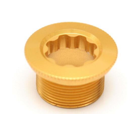 Shimano Saint FC-M810 integrált MTB hajtókar felfogató csavar, alumínium, arany színű