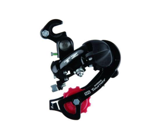 Shimano Tourney TZ-50 közepes kanalas füles hátsó váltó fekete 6-7s