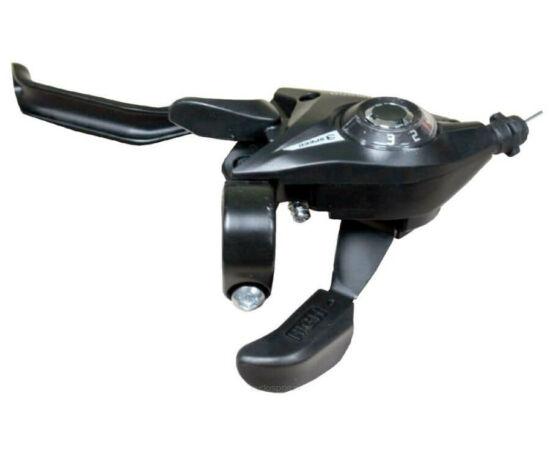 Shimano Tourney ST-EF51 fék-váltókar csak bal - 3-as fekete