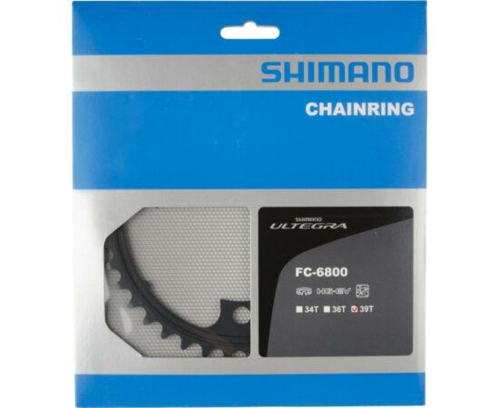 Shimano Ultegra FC-6800 országúti lánckerék, 39T, 11s, 110 mm, alumínium, fekete