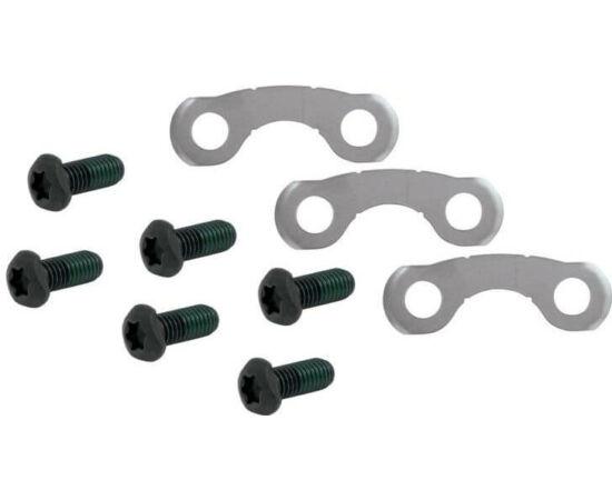 Shimano féktárcsa csavar szett, 6 db, T25, M5 x 10 mm, fekete