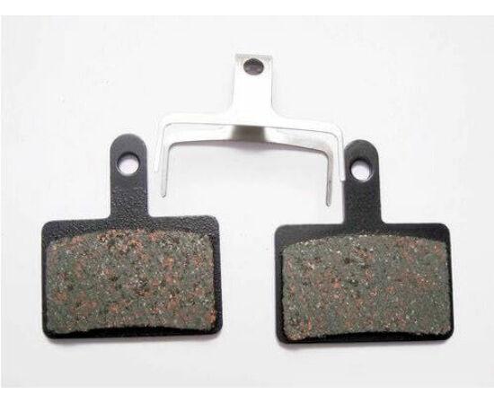 Shimano E01S tárcsafék betét, BR-M575, acél alap, fémes pofa