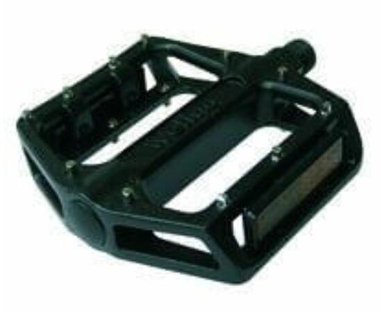 Spyral Botchy Pin alumínium platform pedál, cserélhető tüskékkel, fekete