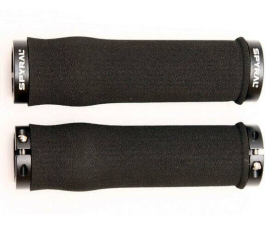Spyral Branch Foam bilincses szivacs markolat, 128 mm, fekete, fekete bilinccsel