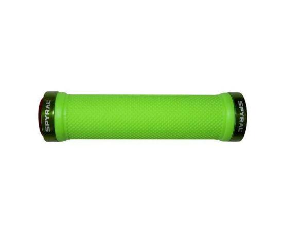 Spyral Branch bilincses markolat, 130 mm, zöld, zöld bilinccsel