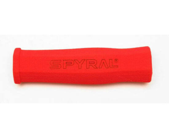 Spyral Hex Light szivacs markolat, 130 mm, piros