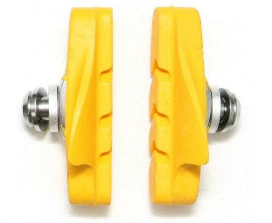 Spyral Road normál országúti fékpofa, 53 mm-es, sárga