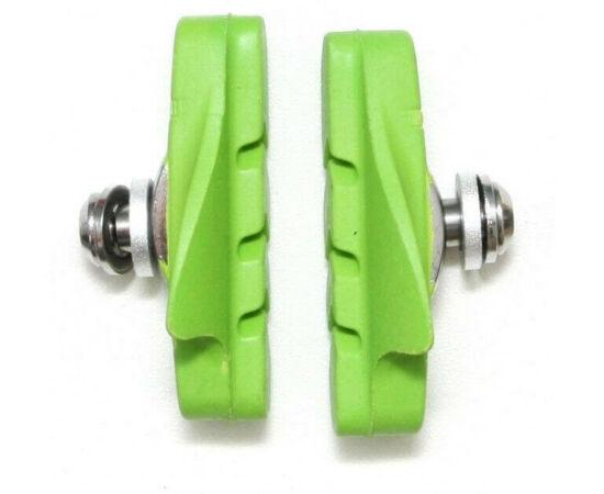 Spyral Road normál országúti fékpofa, 53 mm-es, zöld