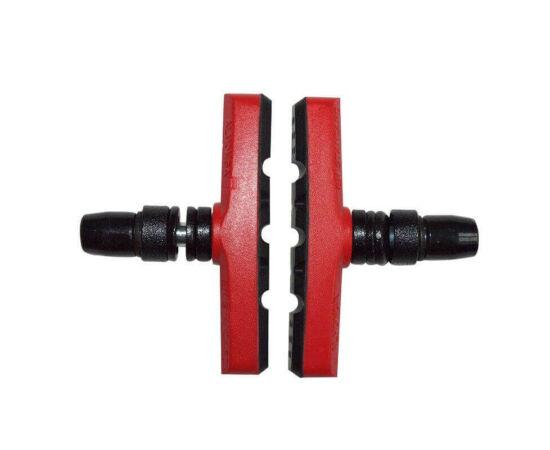 Spyral Robust menetes fékpofa, 60 mm-es, piros-fekete