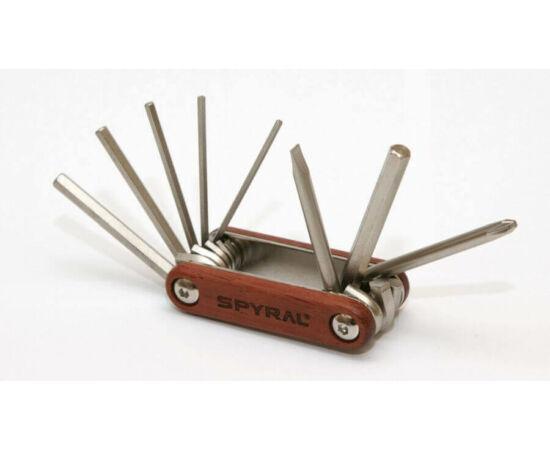 Spyral Wood 8 funkciós alapszerszám, rózsafa borítással