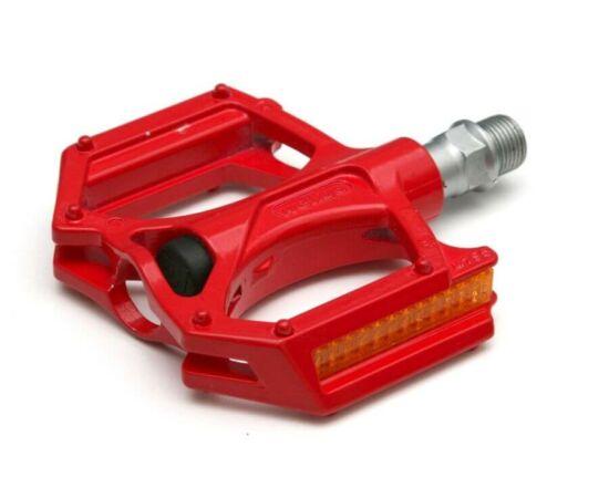 Spyral Branch STD ipari csapágyas alumínium pedál, piros