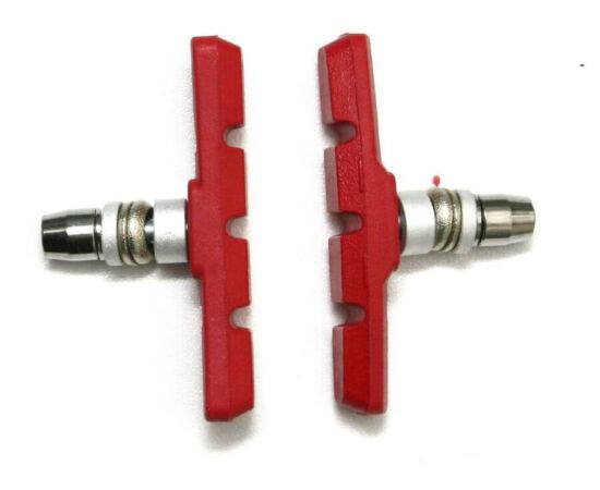 Spyral Analogue menetes fékpofa, 70 mm-es, piros