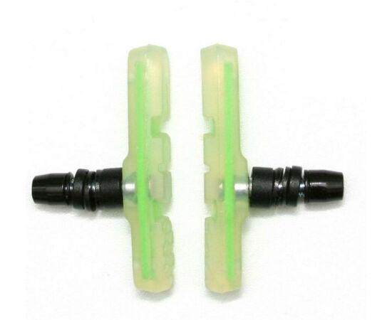 Spyral System menetes fékpofa, 72 mm-es, zöld
